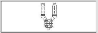 McWade Product - BCC10 - YC & 2YC Stud Clamps for Stud to Twin Str. Cond