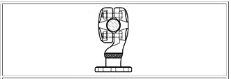 McWade Product - BCC16a - KBC Pedestal Support for Conductor