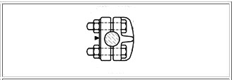 McWade Product - BCC19b - ISOP 26 Terminal Palm Clamp