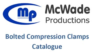 McWade Product - Bolted Compression Clamps Catalogue