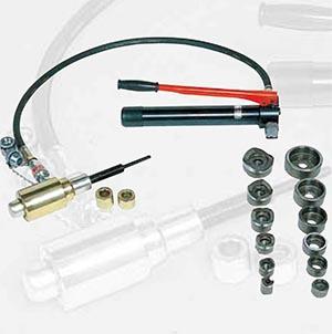 McWade Product - IZ - Hydraulic Punch - sh-10(a)p & sh-10(b)p